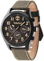Timberland Men's Smithfield Brown Nylon Strap Watch 46x57mm TBL14477JSB61