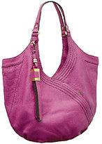Oryany As Is Tracy Italian Grain Leather Hobo