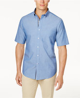 Club Room Men's Chambray Shirt with Pocket, Created for Macy's