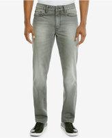 Kenneth Cole Reaction Men's Slim-Fit Gray Wash Jeans
