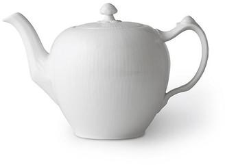 Royal Copenhagen White Fluted Teapot