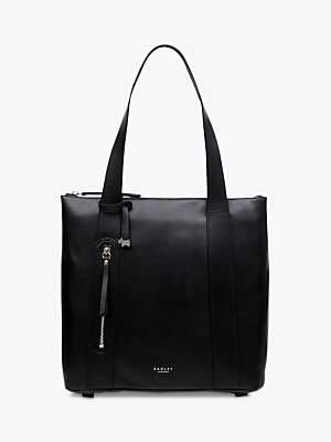 Radley Taylors Court Leather Tote Bag, Black