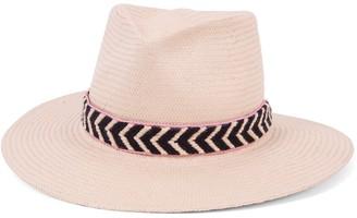 Ale By Alessandra Women's Cartagena Fine Panama Sunhat Packable & Adjustable