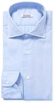 Luca Roda Solid Dress Shirt