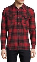 True Religion Western Plaid Cotton Sportshirt
