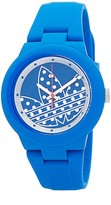 adidas Men's Abrden Blue Polka Watch