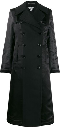 Junya Watanabe Double-Breasted Contrast-Sleeve Coat