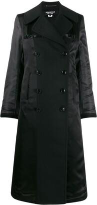 Junya Watanabe double-breasted contrast-sleeve coat