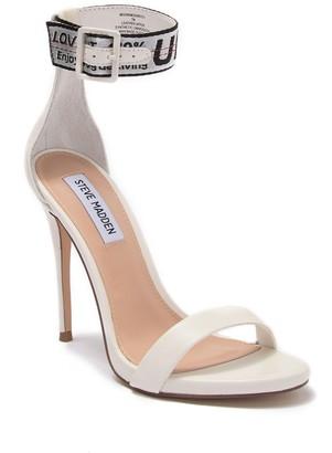 Steve Madden Moon Ankle Strap Siletto Sandal