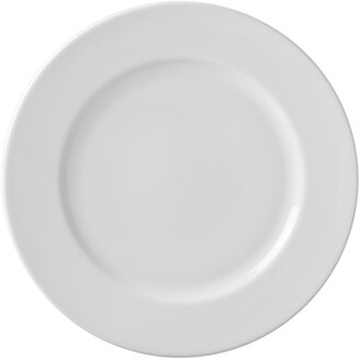 Ten Strawberry Street Set Of 6 Classic White Charger Plates