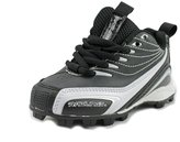 Rawlings Sports Accessories Base Invader Low Toddler US 10 W Black Cleats