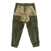 Diesel Jogging Trousers In Two-tone Fabric