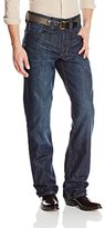 Stetson Men's Modern-Fit Jean with Art Deco Stitch Back Pocket
