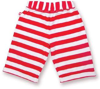 Olive&Moss Trousers - Perry The Panda - Red/White - 12-24 Months