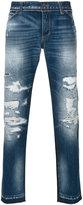 Dolce & Gabbana distressed jeans - men - Cotton - 46