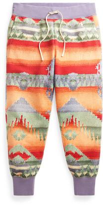 Ralph Lauren Southwestern Fleece Track Bottoms