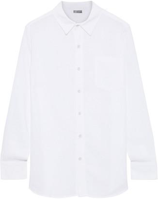 DL1961 Nassau & Manhattan Tencel And Linen-blend Voile Shirt