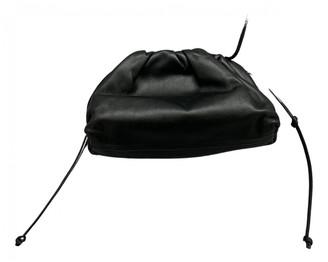 Bottega Veneta Pouch Black Leather Clutch bags
