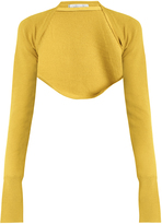 Palmer Harding PALMER/HARDING Open-front cropped knit top