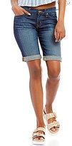 Big Star Alex Rolled Cuff Bermuda Denim Shorts