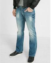 Express classic fit boot leg flex stretch jeans