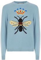 Gucci Bee Wool Intarsia Sweater
