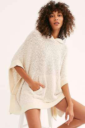 Free People Fp Beach Easy Breezy Poncho Sweater by FP Beach at