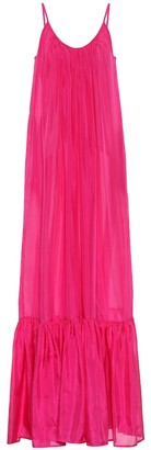 Kalita Brigette silk maxi dress