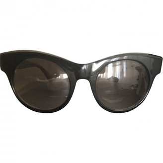 Oliver Goldsmith Black Plastic Sunglasses