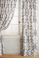 Anthropologie Tiled Crest Curtain