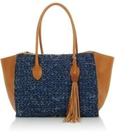 Clever Carriage Company Handcrafted Capri Crochet Satchel