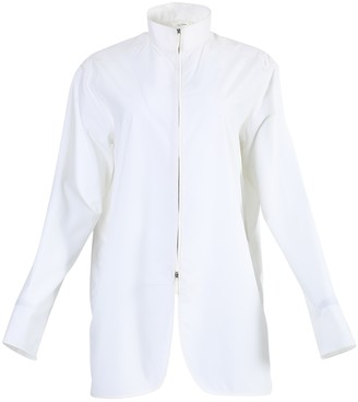 The Row White Zana Shirt