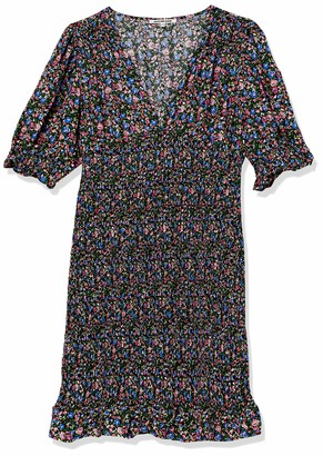 Forever 21 Women's Plus Size Smocked Floral Dress