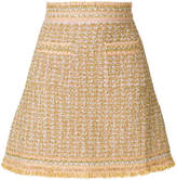 M Missoni embroidered fitted skirt
