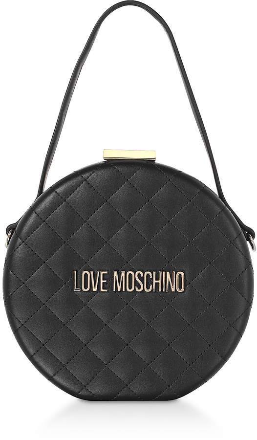 ad8c58f101 Love Moschino Eco Leather Handbags - ShopStyle