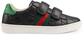 Gucci Children's Ace Signature sneaker
