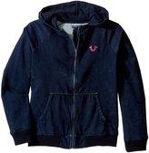 True Religion Girl's Mineral Wash Hoodie (Little Kids/Big Kids) Sweatshirt
