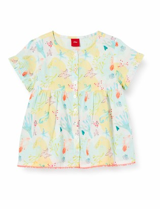 S'Oliver Junior Baby Girls' Bluse Kurzarm Blouse