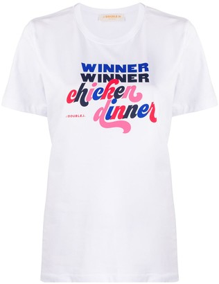 La DoubleJ Winner Winner Chicken Dinner T-shirt