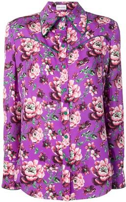 Magda Butrym Violet Floral Blouse