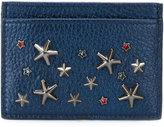 Jimmy Choo Umika card holder - women - Calf Leather/metal - One Size