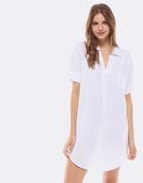 Deshabille Revallo Shirt Dress White