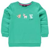 George Woodland Creature Graphic Sweatshirt