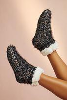 Me Moi MeMoi Fuzzy Slipper Socks