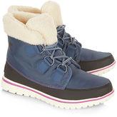 Sorel Dark Mountain Cozy Carnival Fleece Boots