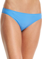 Tory Burch Laurito Solid Hipster Swim Bottom, Blue Dusk