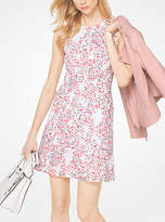 Michael Kors Floral Eyelet Cotton Shift Dress