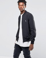 Religion Bomber Jacket With Chest Branding