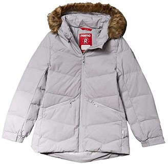 reima Down Jacket Ennus (Toddler/Little Kids/Big Kids) (Light Grey) Girl's Clothing