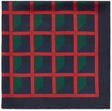Gucci Geometric print silk scarf